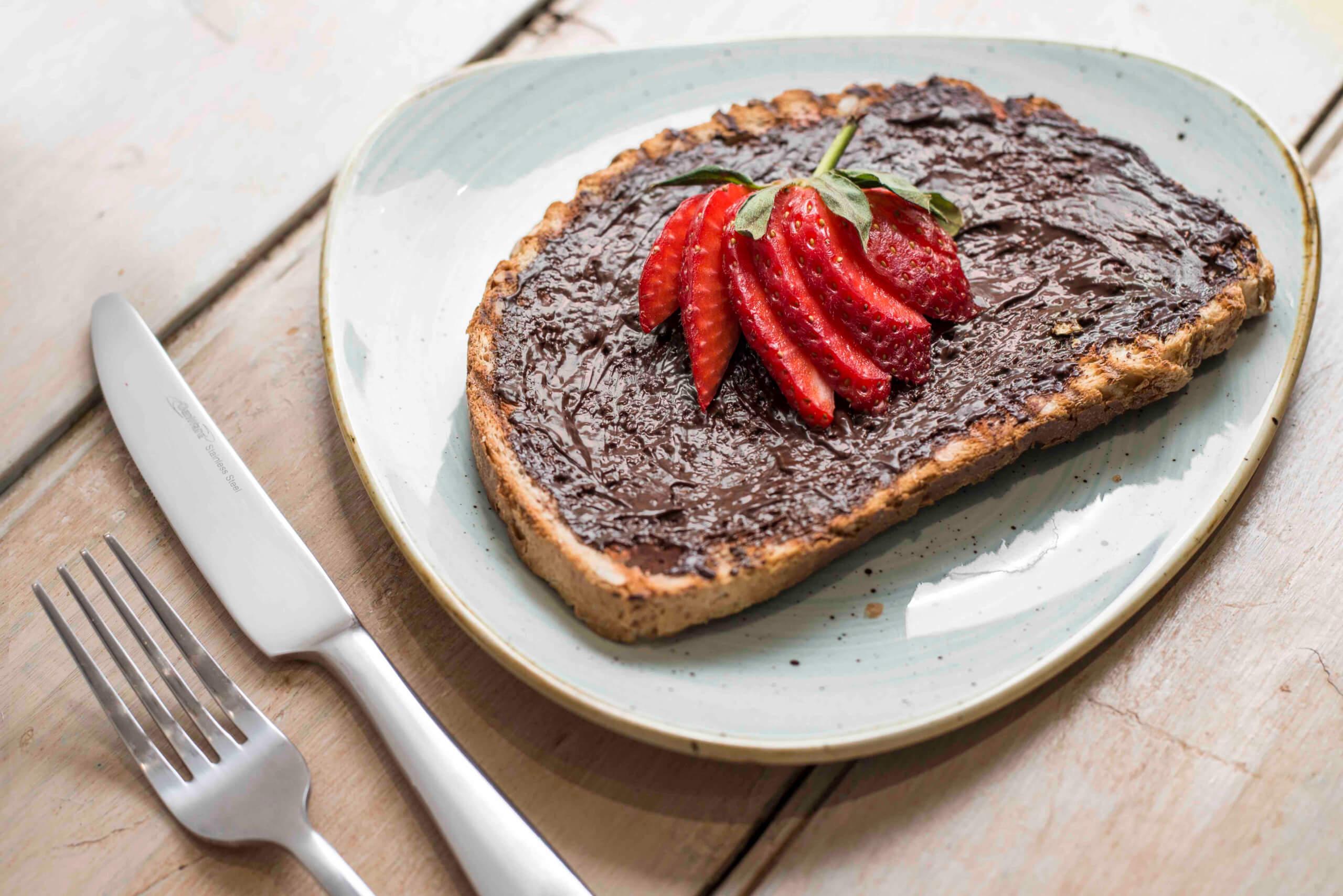 Photo 4 (credit Kirsty Owen) - Jaz & Jul's weekday breakfast toast Seggiano chocolate hazelnut spread-2