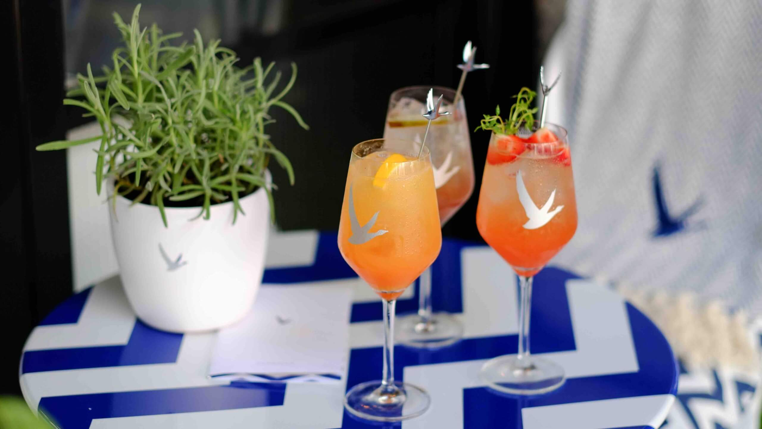 Tredwell's Grey Goose Fizz selection