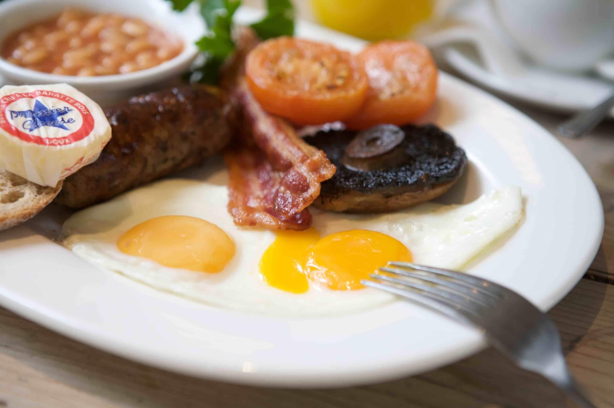 Village breakfast