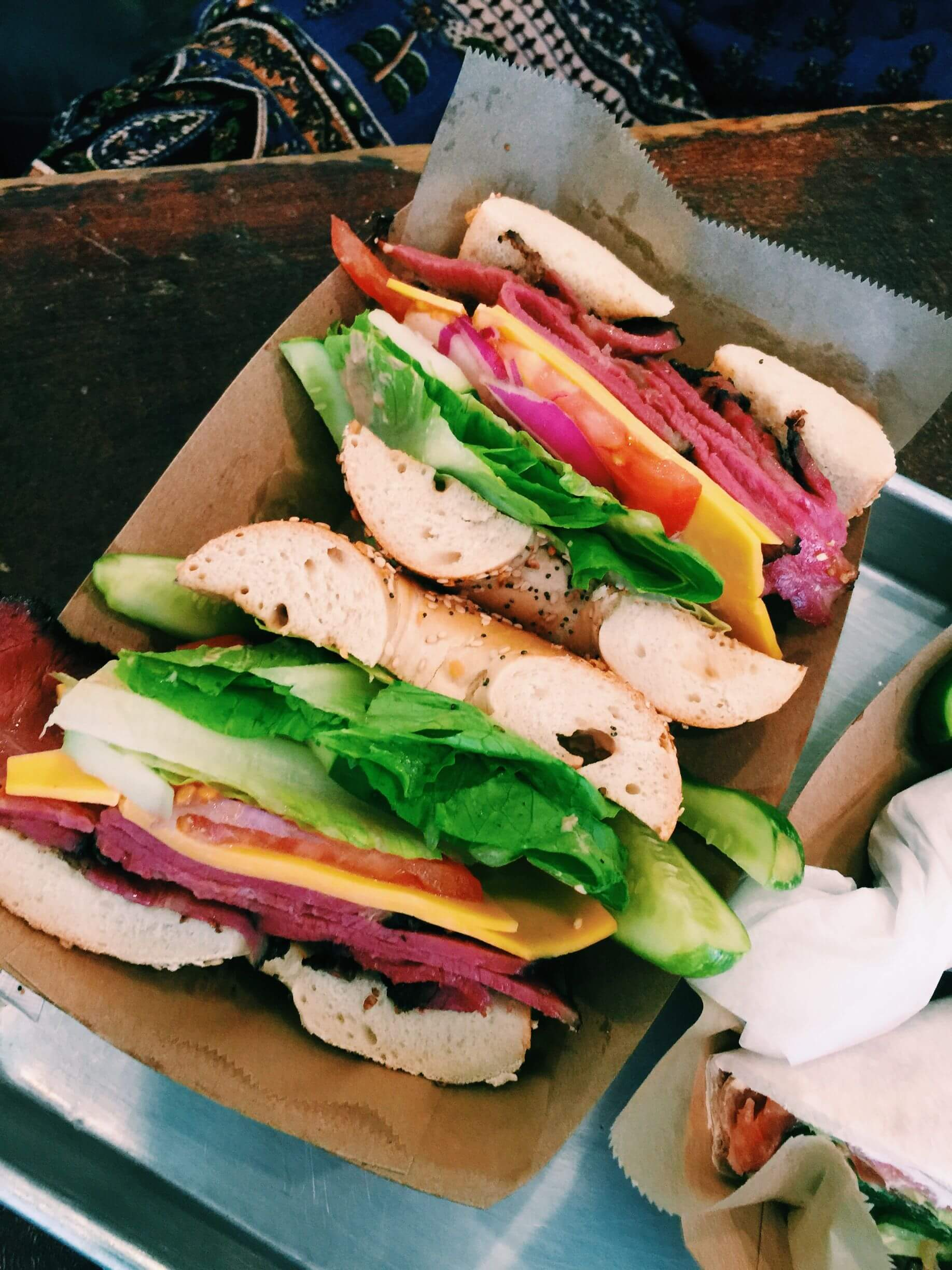Places To Eat In New York Best Lunches About Time