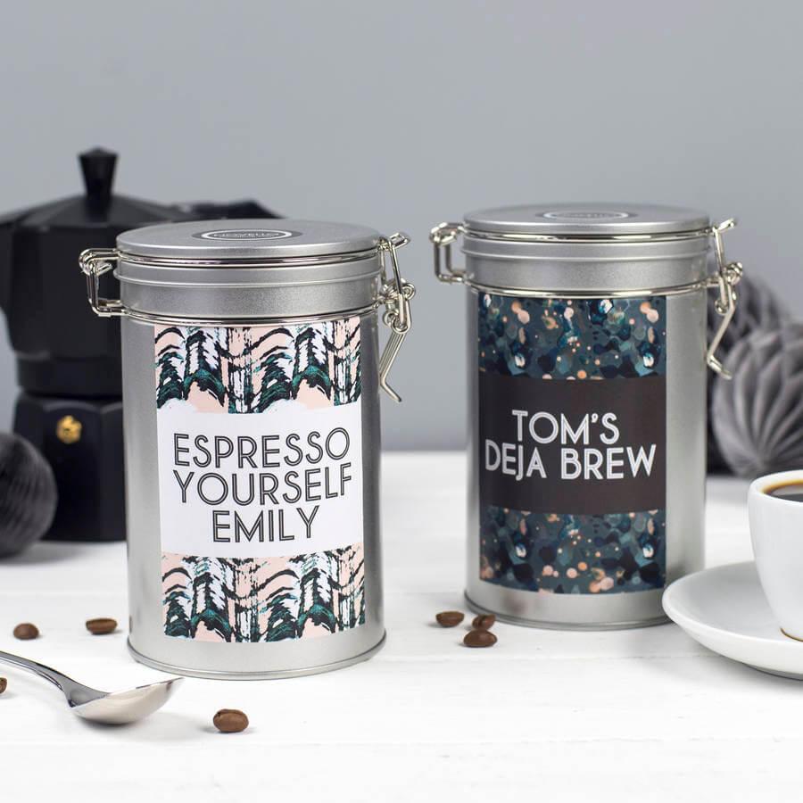 S Tin Coffee Pot Pattern