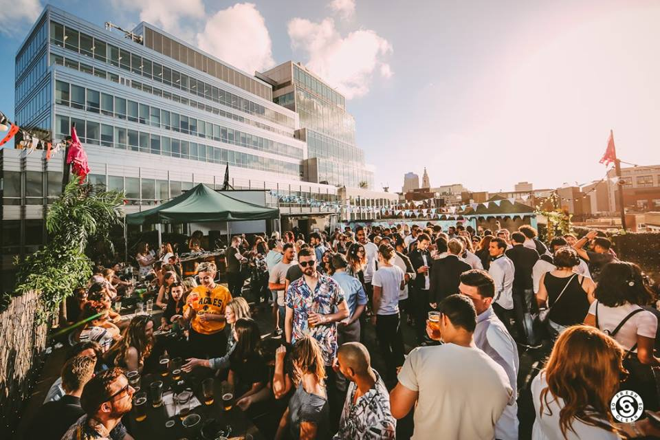 Rooftop Bars in East London