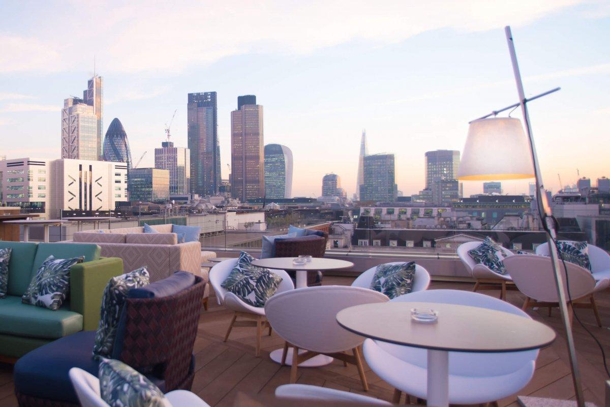 Top 10: Rooftop Bars in East London 2017