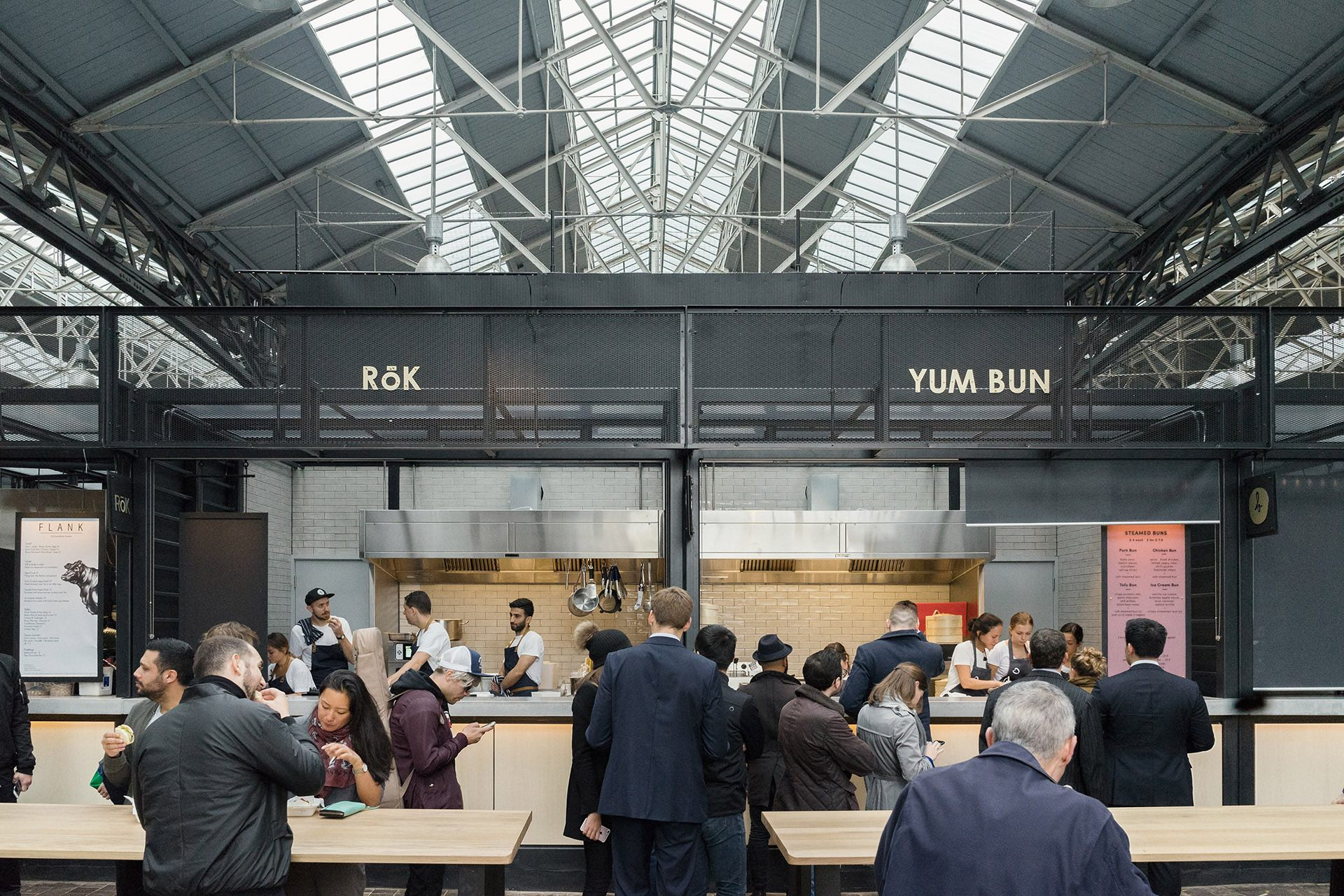 London Spitalfield Market Kitchens