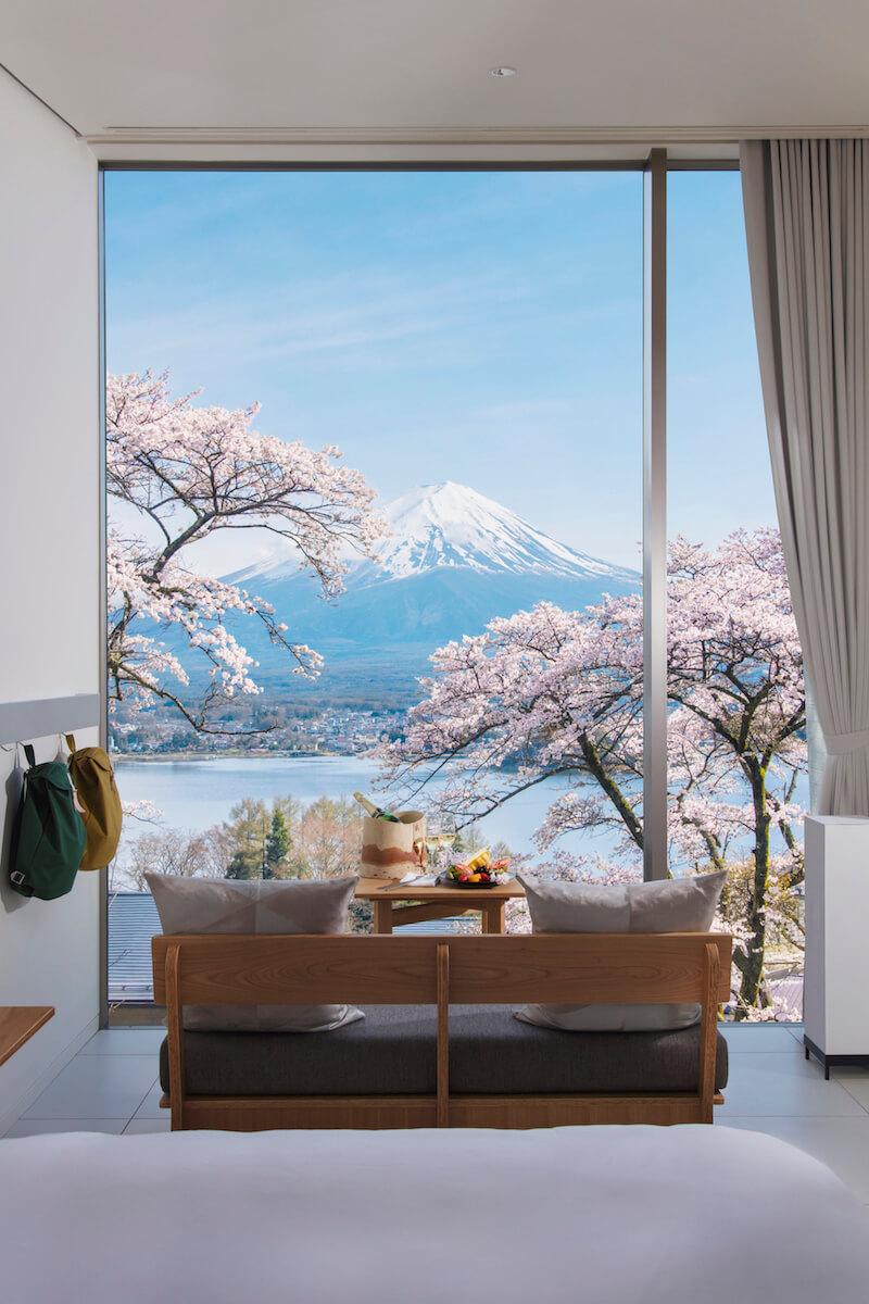 HOSHINOYA Fuji cherry blossom