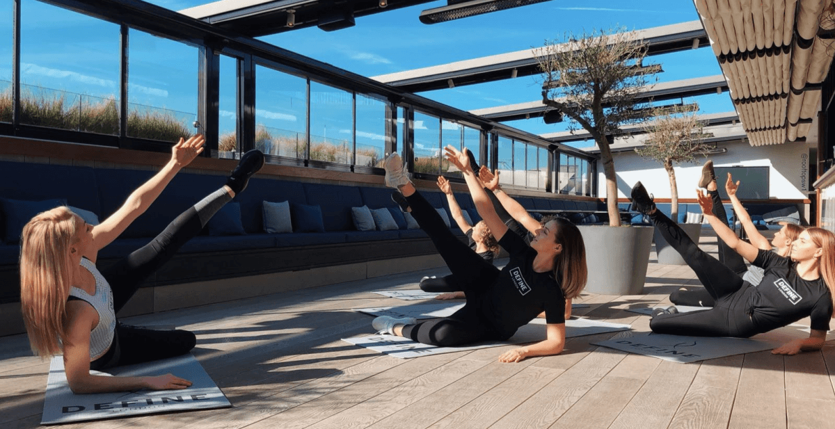best rooftop fitness classes in London, rooftop fitness classes in London, top rooftop fitness classes in London, outdoor fitness classes in London, outdoor workouts in London, rooftop fitness classes London