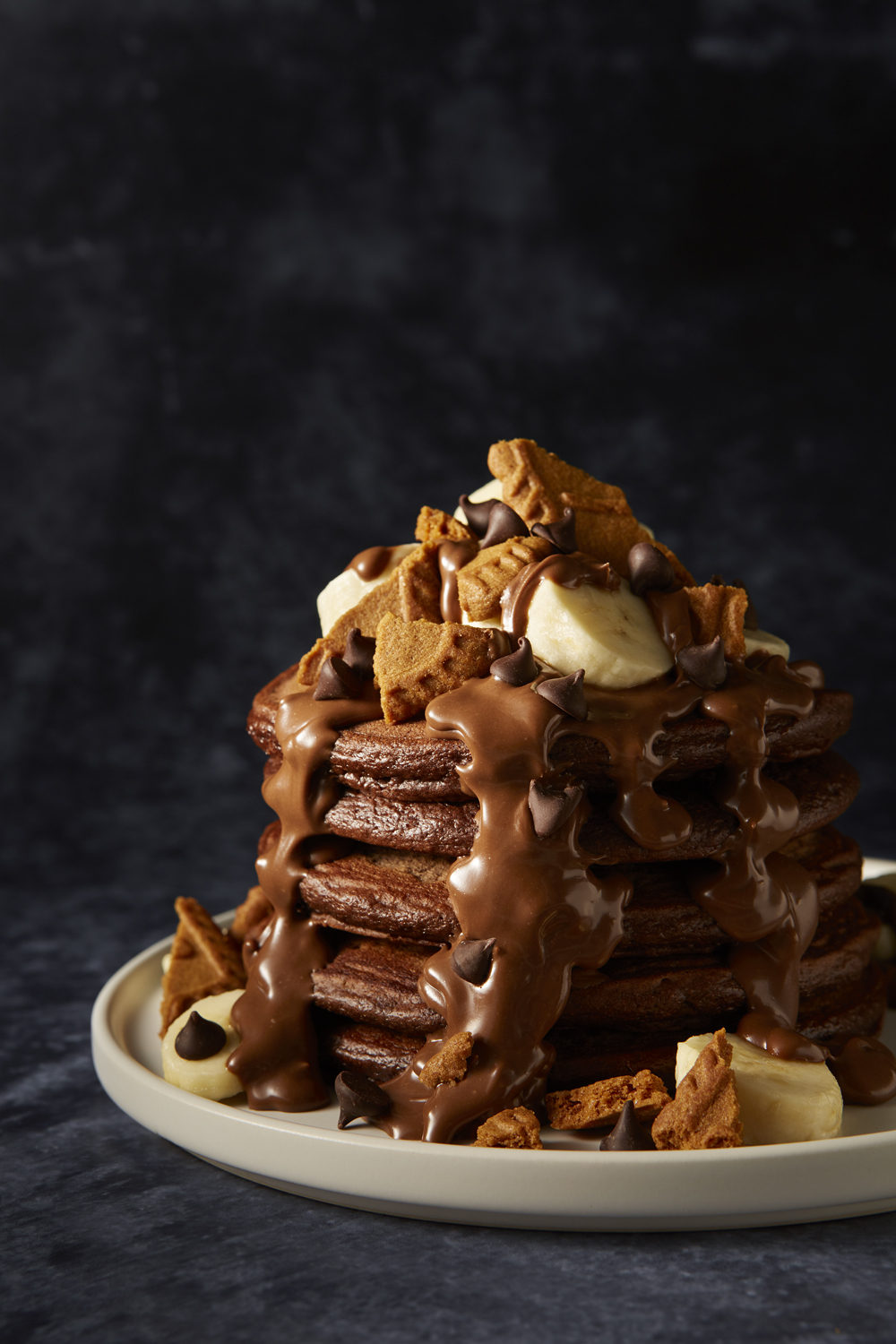 Double Chocolate Pancake Recipe Gu About Time Magazine