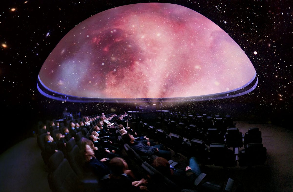 The Peter Harrison Planetarium at the Royal Observatory