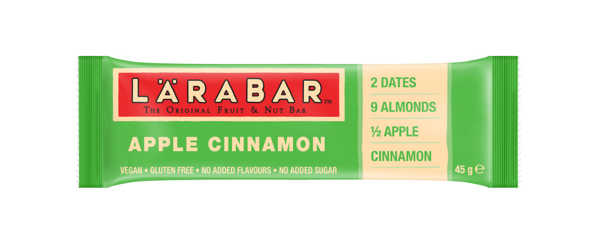 Apple and Cinnamon LÄRABAR, Pip & Nut Spiced Pumpkin Almond Butter, autumn snack ideas, autumn snacking, autumn snacks to buy