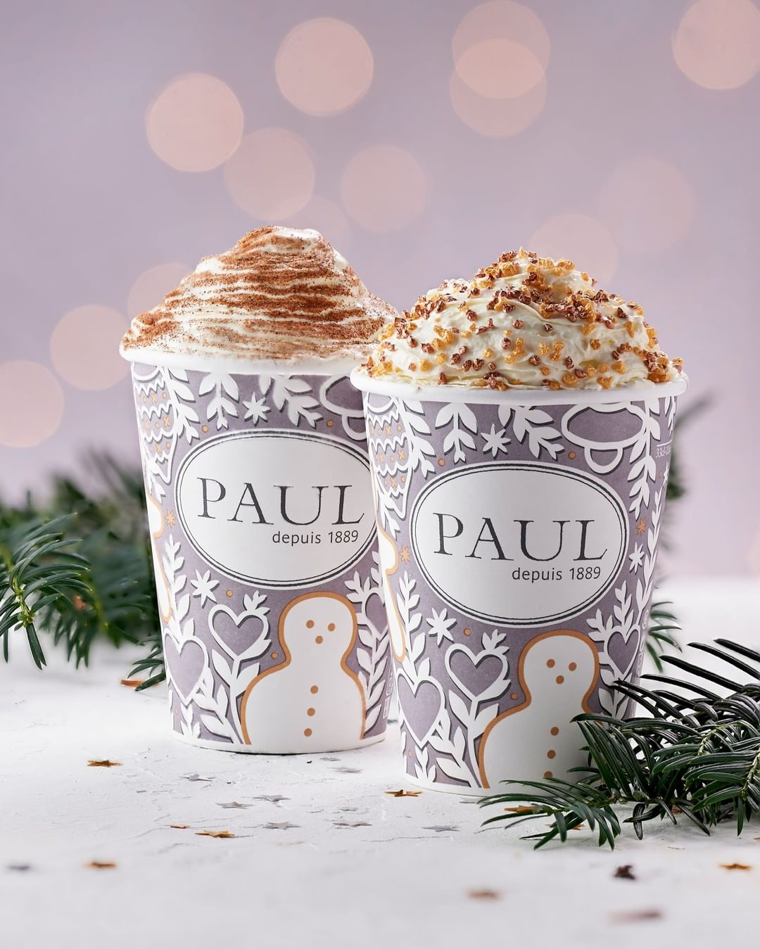 PAUL Bakery hot chocolate, PAUL Bakery festive drinks