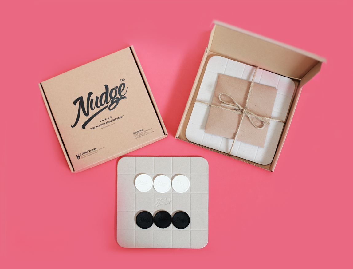 Nudge board game - charity Christmas gift that gives back