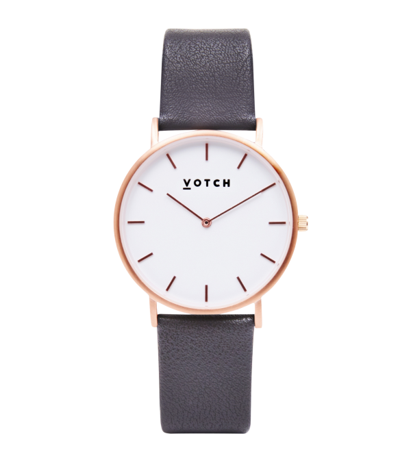 Votch watch in grey, white and rose gold