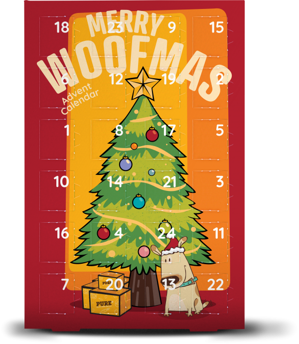Pure Pet Food Merry Woofmas Advent Calendar
