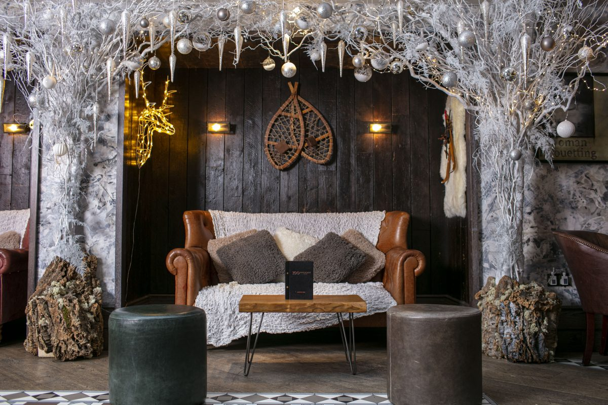 winter terraces in London - 100 Wardour St