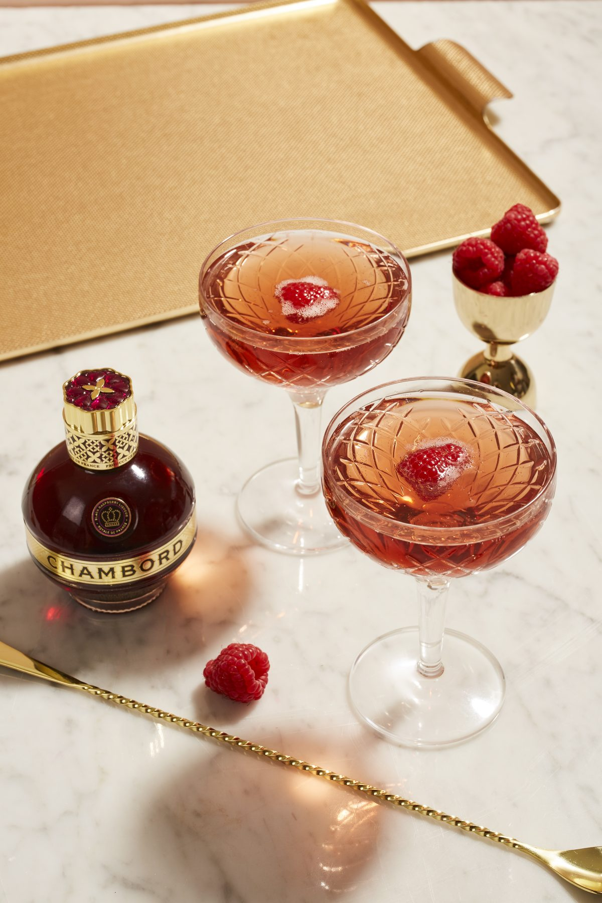 Chambord and cocktails