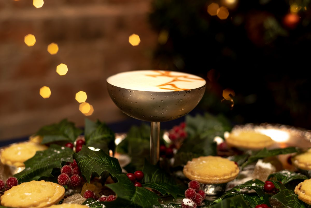 Mince Pie cocktail