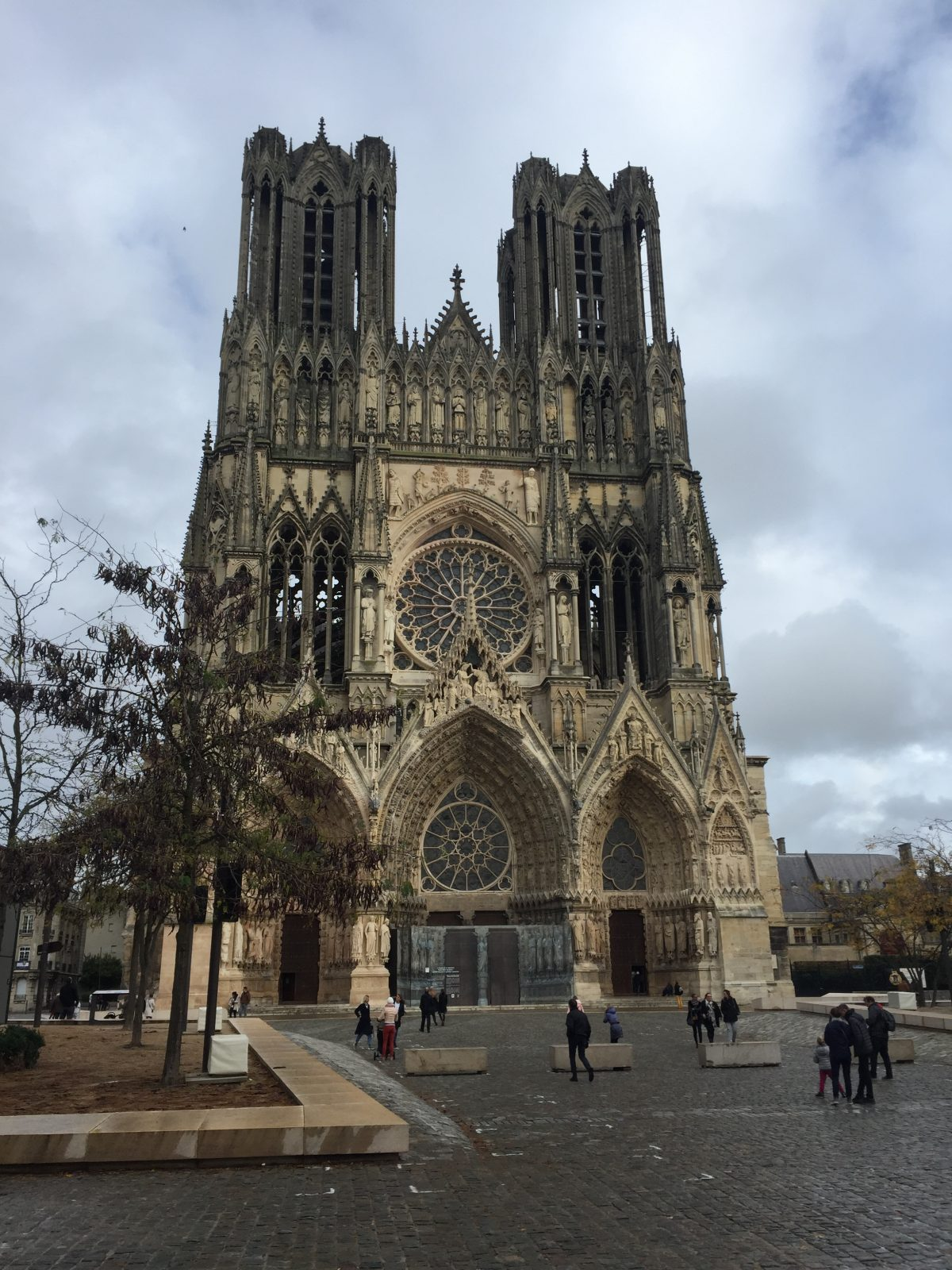 the notre dame Reims