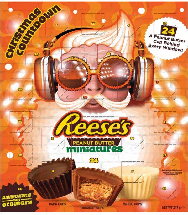 reeces advent calendar, best Chocolate Advent Calendars 2020