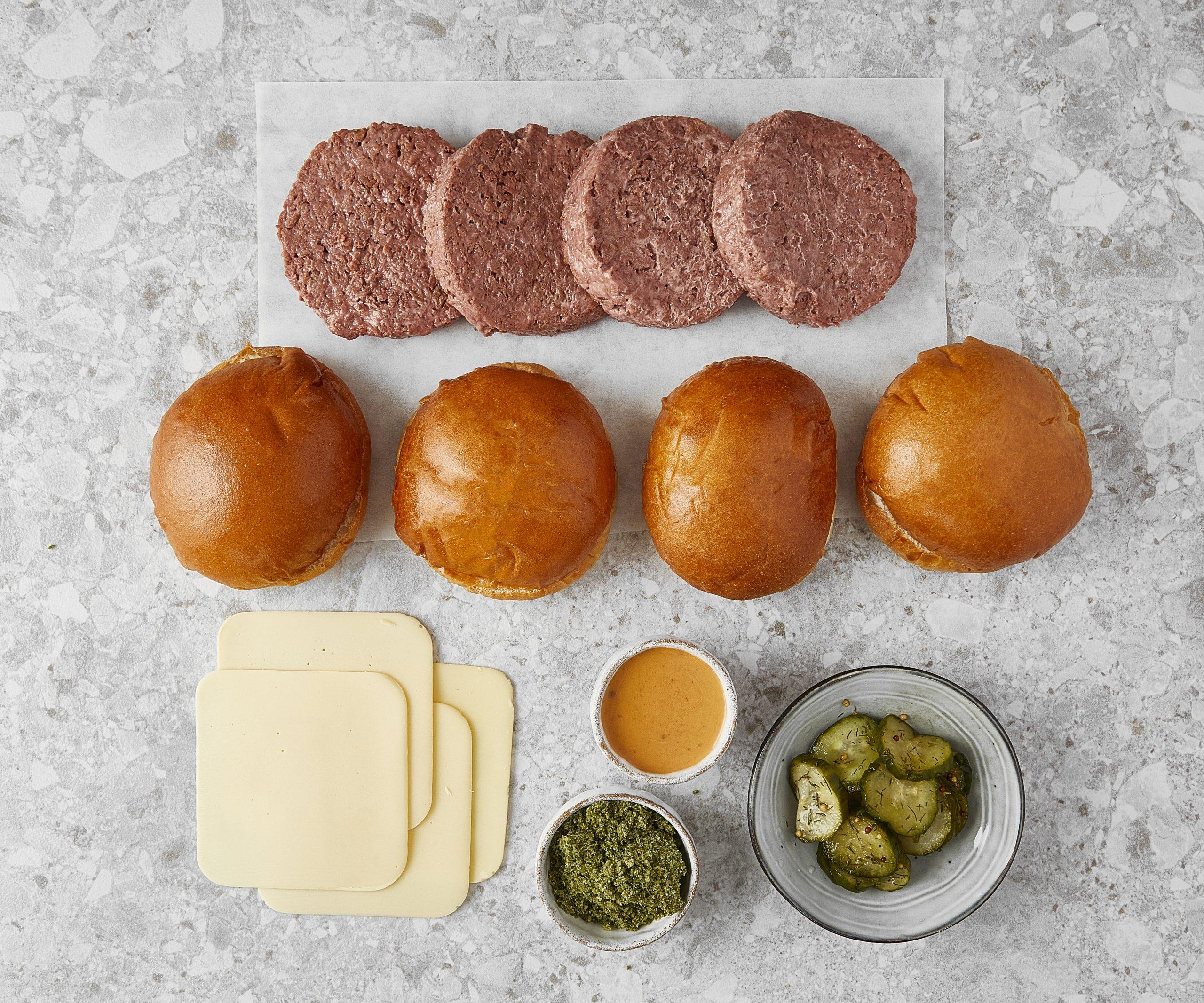 Vegan Meal Kits in London, vegan Honest Burgers, Honest Burgers vegan, vegan Honest Burgers delivery
