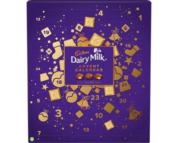 Dairy Milk advent calendar, best Chocolate Advent Calendars 2020
