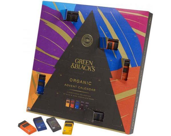 Green & Black'sadvent calendar, best Chocolate Advent Calendars 2020