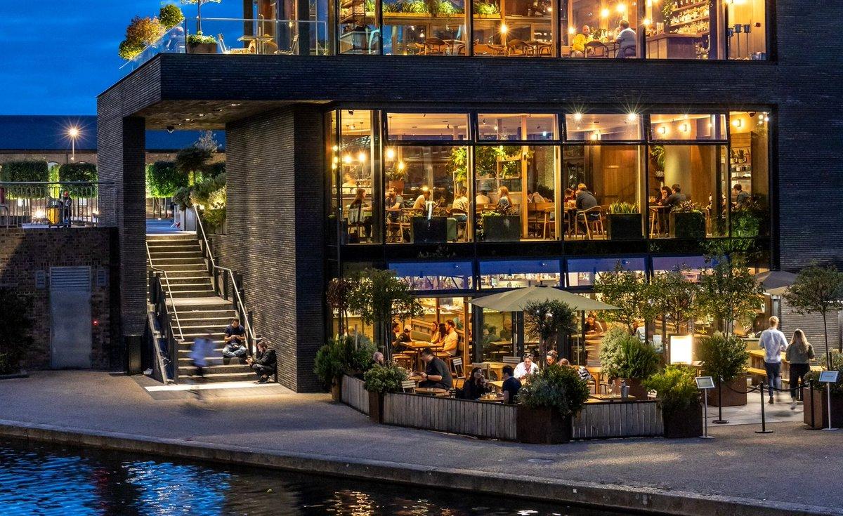 London Restaurants by the Water, London Restaurants by canal, canal restaurants london