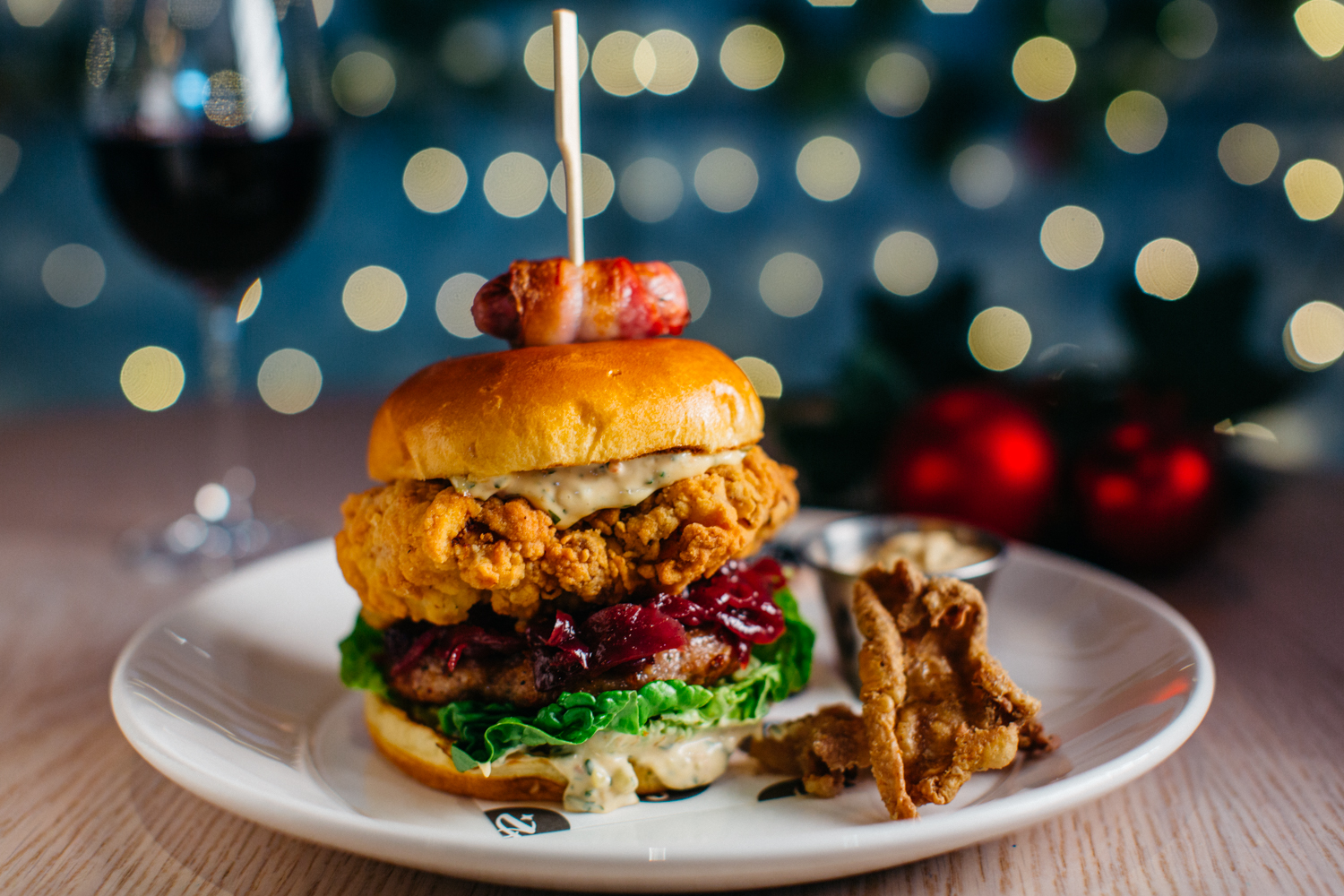 London's Best Christmas Burgers, London's Best Christmas Burgers 2018, Best Christmas Burgers in london,