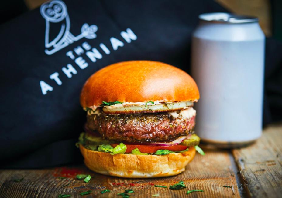 new menus in london, best new menus in london, top new menus in london, the athenian burger, honest burgers the athenian