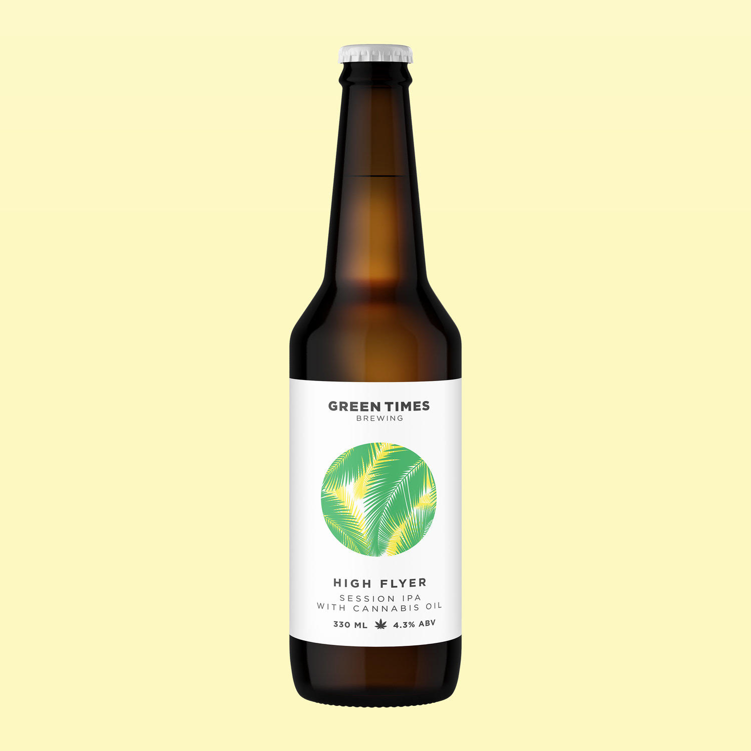 CBD beer, CBD beer in London, Green Times CBD beer