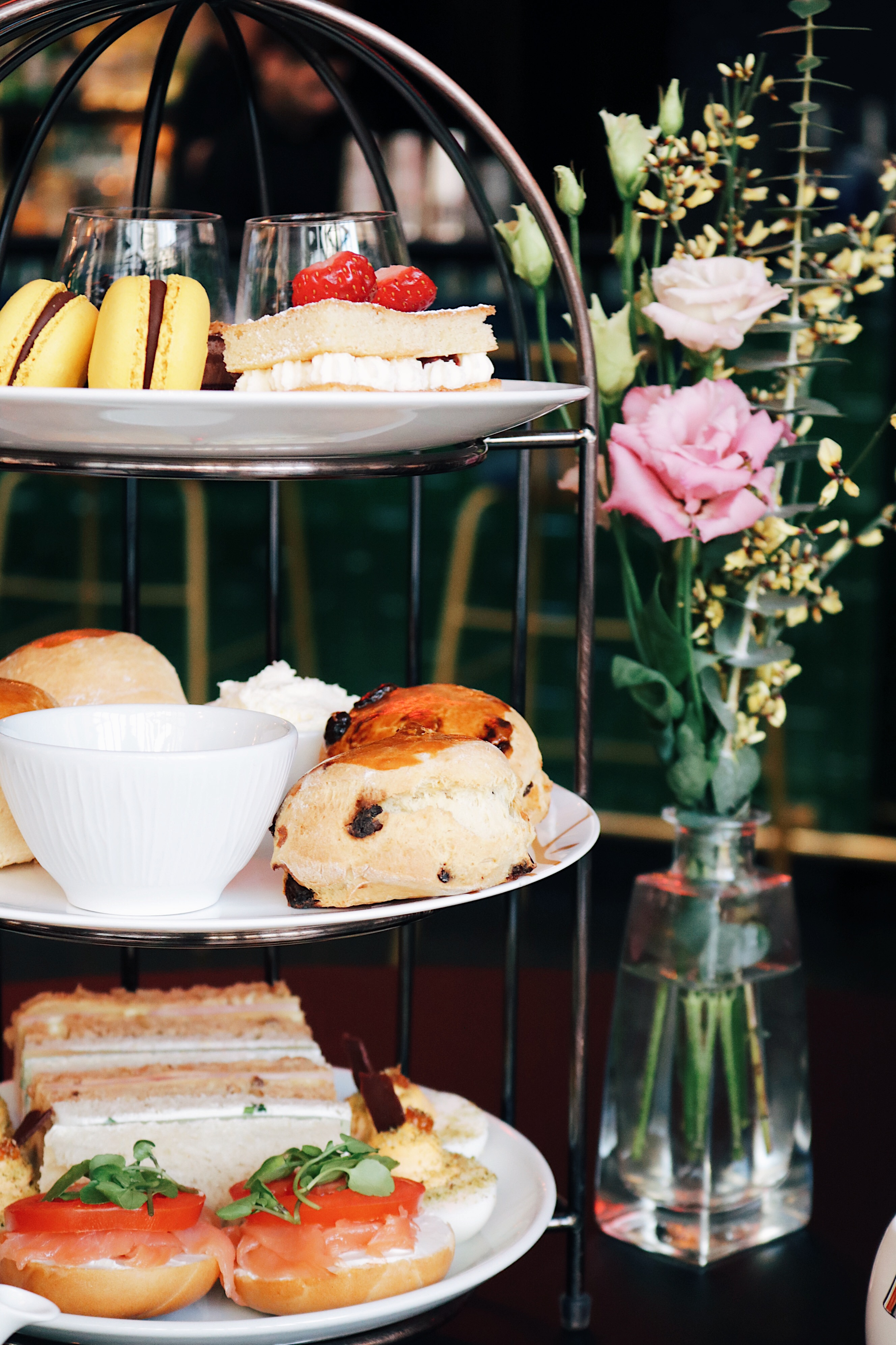 TheCurtainHotel afternoon tea, TheCurtainHotel tea