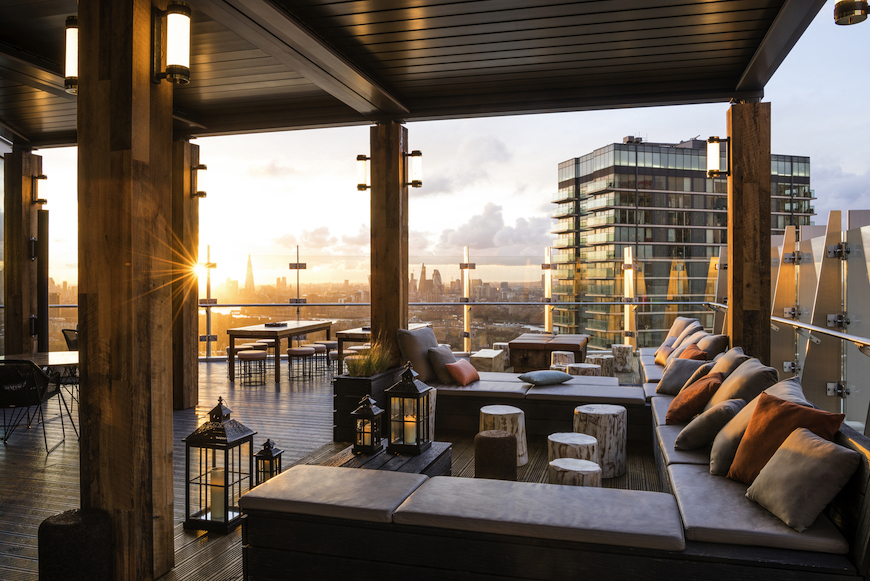 Bokan 39, New Outdoor Terraces in London, Outdoor Terraces in London, where to drink outside in london