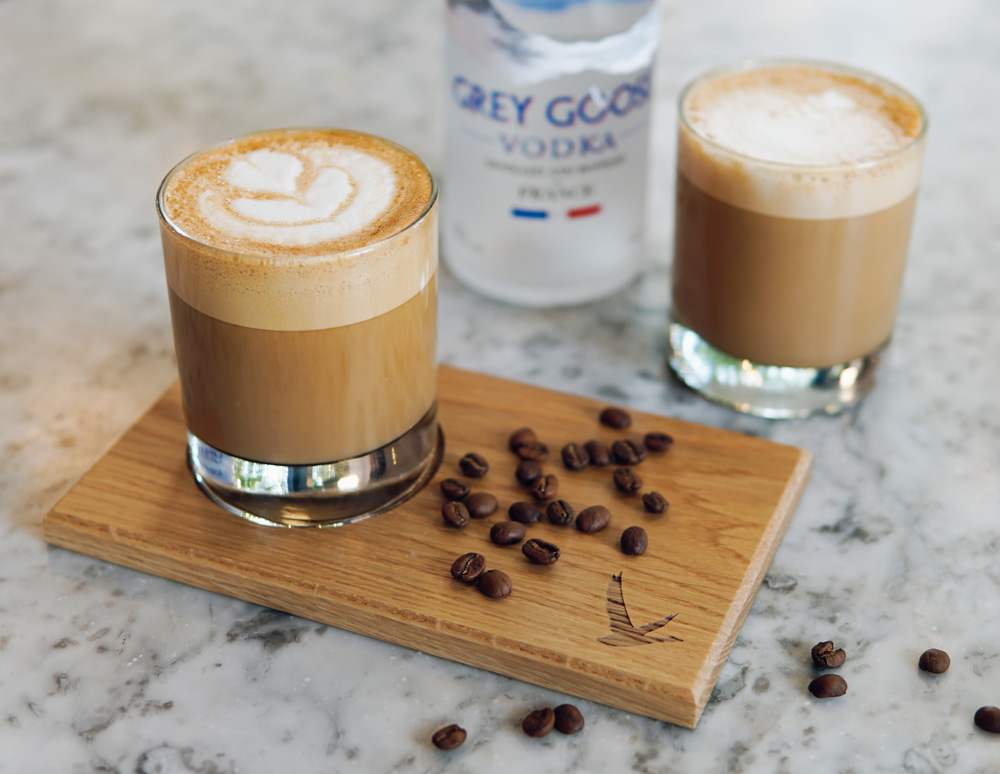 Cocktails to Drink in London, hot flat white russian, grind cocktails, grind coffee cocktails