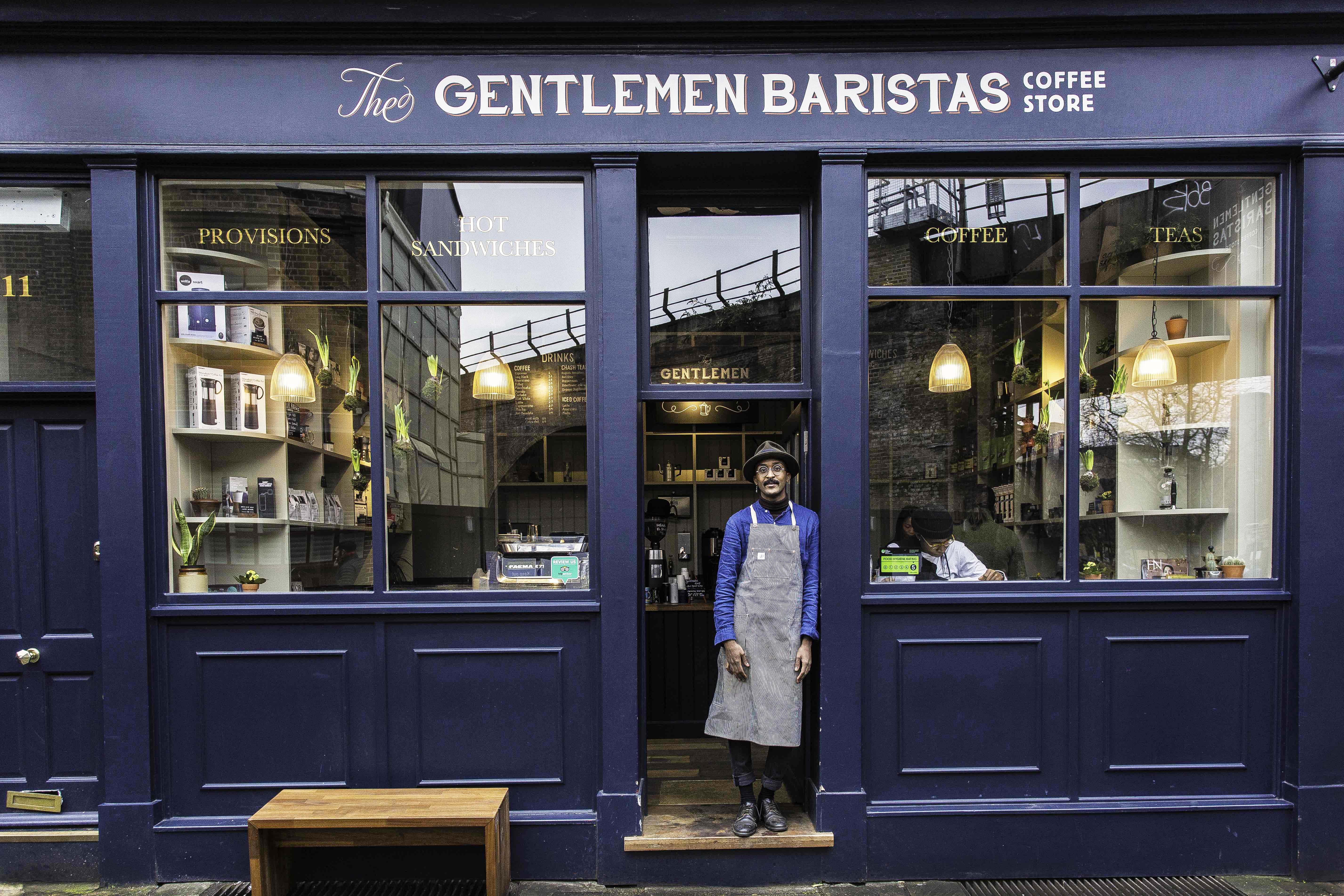 TheGentlemenBaristas free coffee