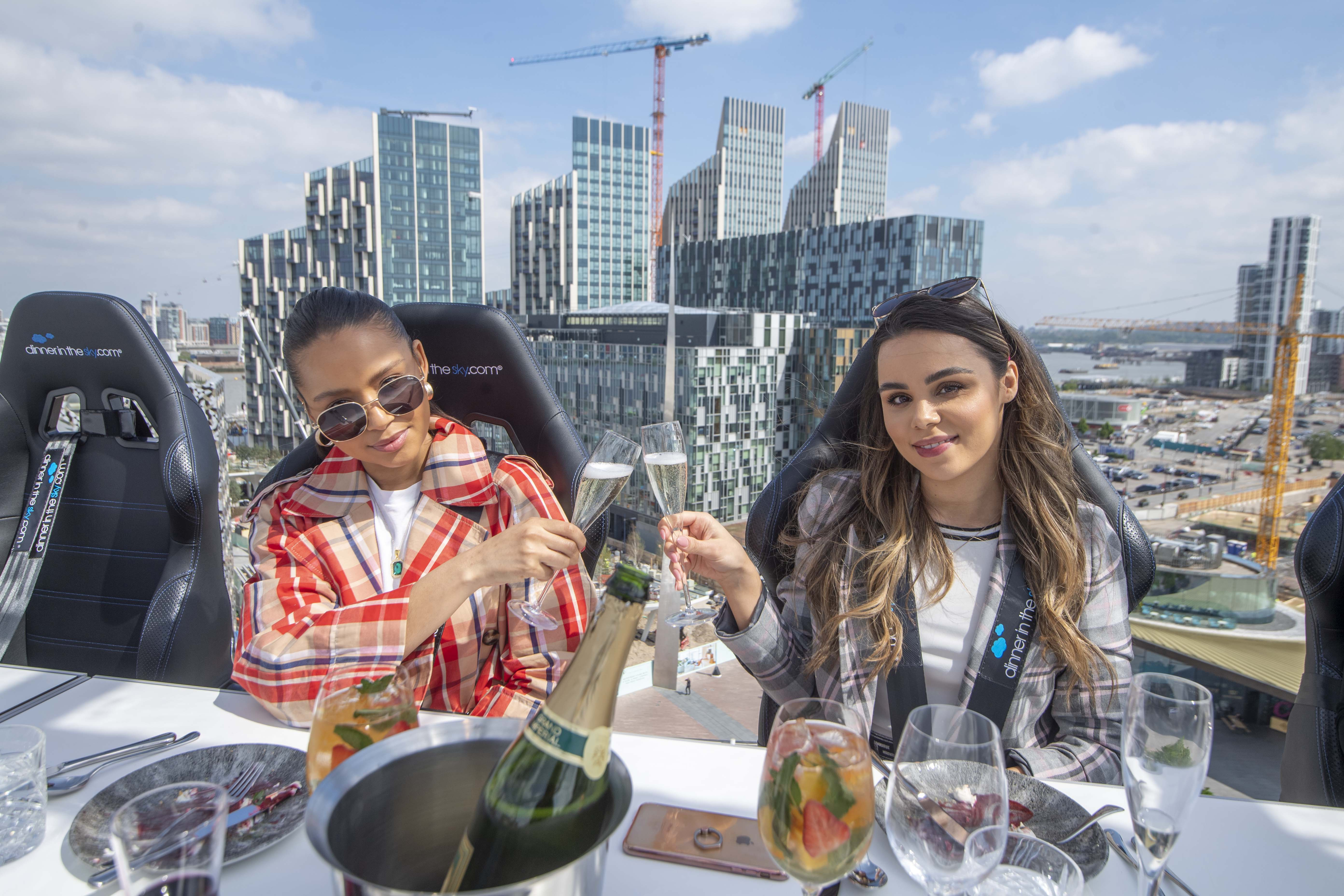 Bottomless Brunch in the Sky, london in the sky review, london in the sky brunch