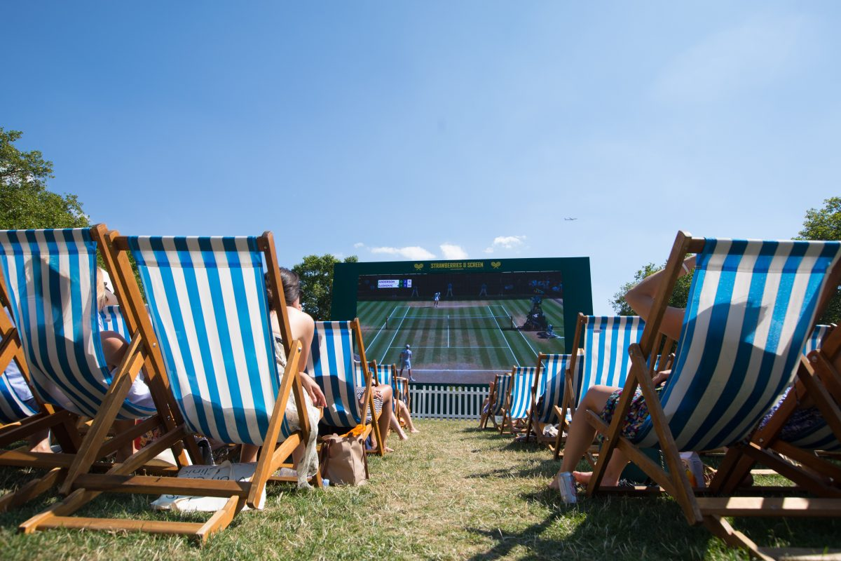 Where to Watch Wimbledon, Where to Watch Wimbledon in london, Where to Watch Wimbledon 2019, Where to Watch Wimbledon in london 2019, outdoor wimbledon screenings london