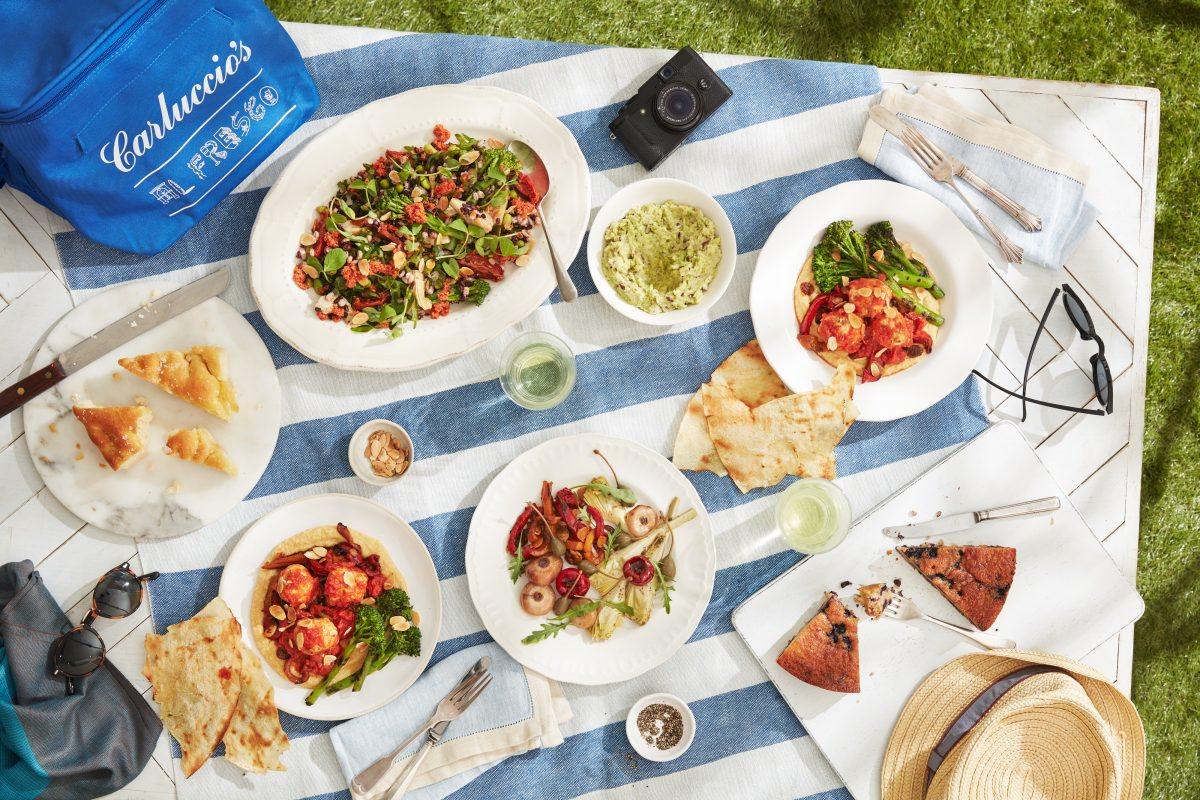 Carluccio's picnic, picnic hampers in london