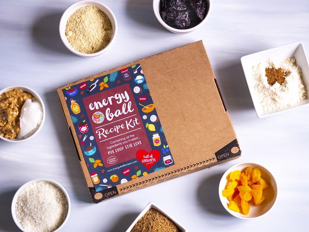 Energy Ball Recipes Vegan Snack Kit
