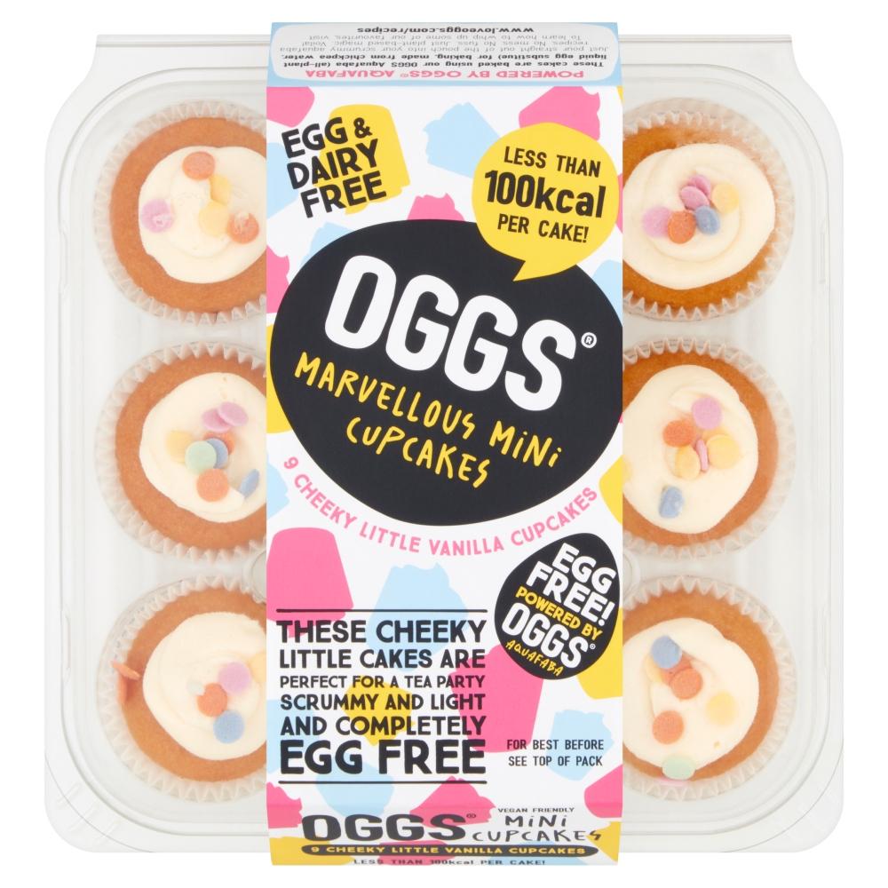 new vegan food products, vive vegan bars, vive vegan review, vegan snack brands, vegan food brands, OGGS cupcakes