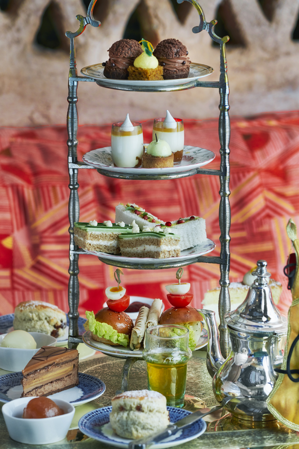 places you need to eat in London, new places you need to eat in London, momo afternoon tea