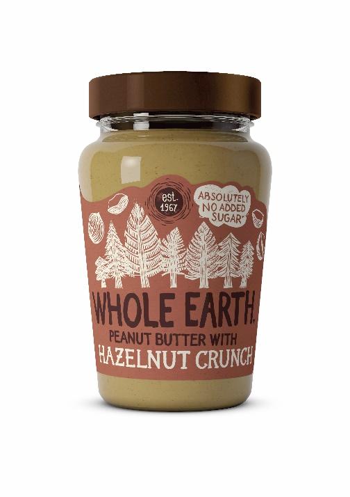 Whole Earth Hazelnut Crunch Peanut Butter